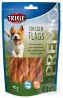 Pochúťka dog CHICKEN FLAGS (trixie)