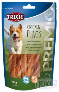 Pochúťka dog CHICKEN FLAGS (trixie)