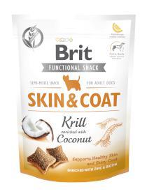 BRIT snack SKIN COAT krill/coconut