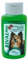 Antipar. šampón RIVAL DUO pre psov/dlhá srsť