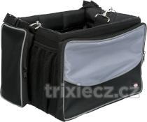 Prepravné FRONT-BOX na KOLO sivá